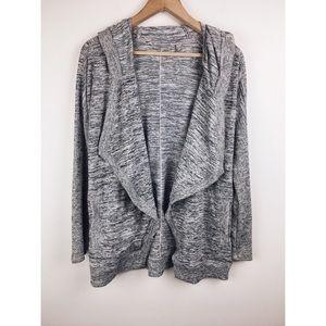 Athleta   Blissful Wrap Hooded Cardigan Sweater